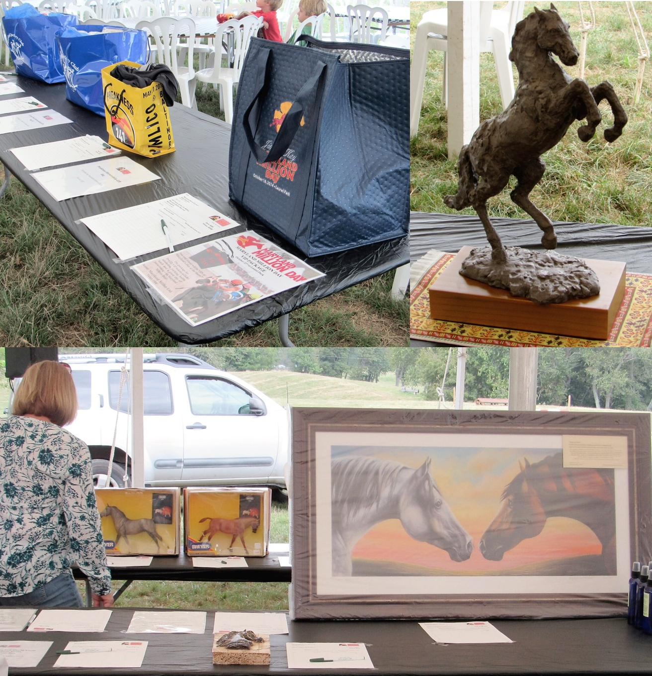 MHC BBQ Auction Collage