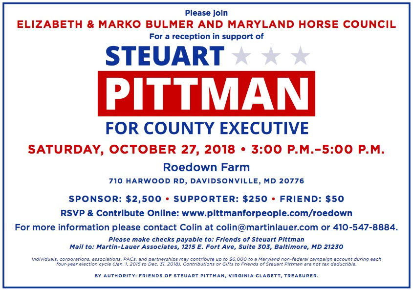 Pittman Event Ad